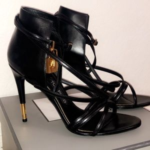 Tom Ford Sandals with Gold Hardware